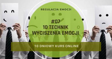 10 technik wyciszenia emocji kurs