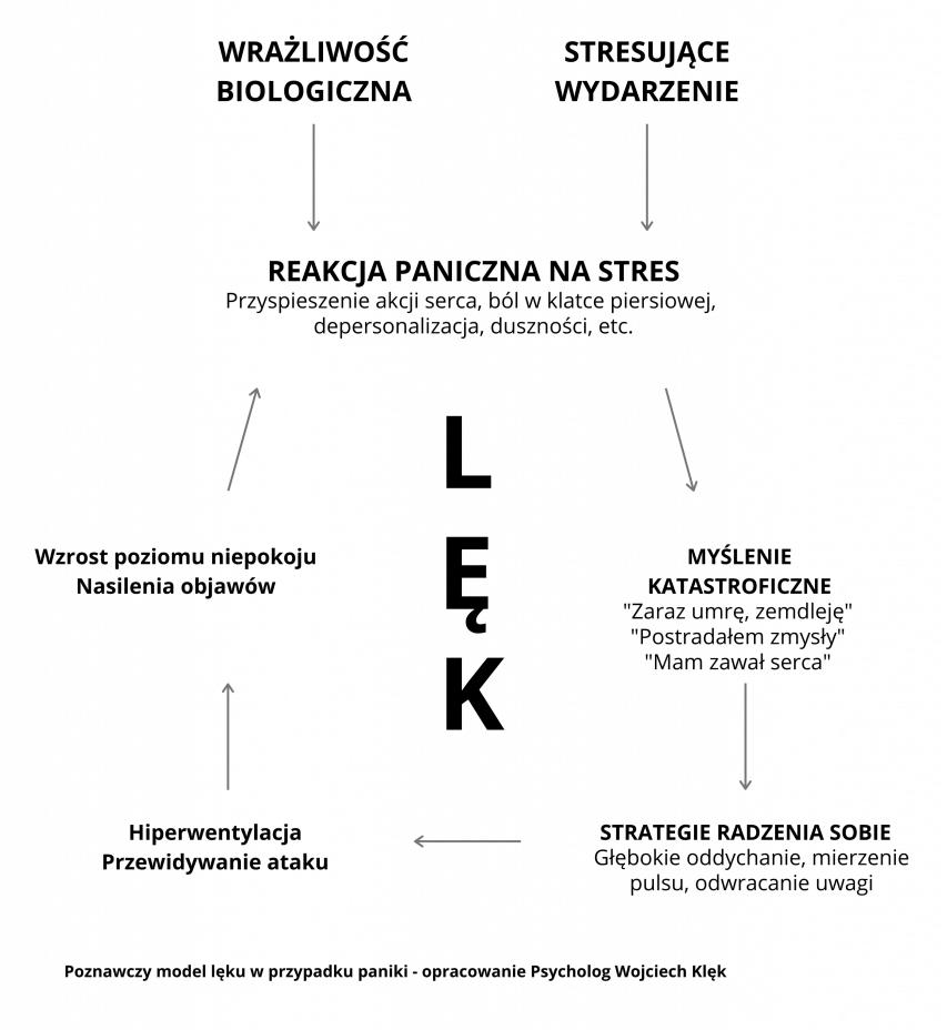 Poznawczy model lęku Psycholog Wojciech Klęk